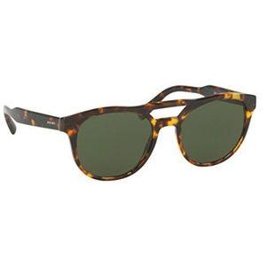 cd21dbdbd7 Prada Accessories - Prada Sunglasses Havana w Green Lens